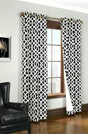 Black And White Blackout Curtains Black And White Curtains Black White Thermal Curtain Design Ideas