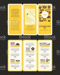 restaurants menu templates free modern restaurant menu design pamphlet template stock vector art modern restaurant menu design pamphlet template royalty free stock vector art