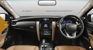 lexus nx thailand price toyota fortuner interior revealed for thai market