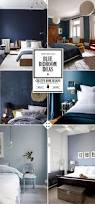 blue bedroom decorating ideas pictures dark blue sponge add blue