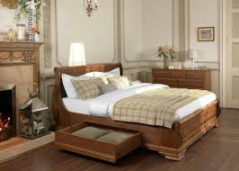 Sleigh Bed King Size Bedroom Amazing Design Toulouse Mahogany Wooden Sleigh Bed King