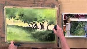 easy landscape watercolor paintings fleagorcom