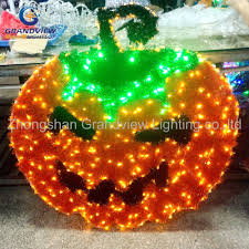 Christmas Garland With Lights by Led Halloween Lights With Christmas Garland Ornament Pumpkin Led