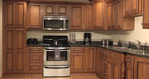 Fresno Medium Brown Glazed Maple Kitchen Cabinets Yelp - Medium brown kitchen cabinets