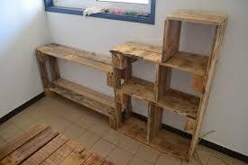 fabrication canapé en palette meuble avec palette de bois