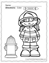 fire safety coloring pages 60 download coloring pages