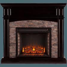 faux stone electric fireplace binhminh decoration