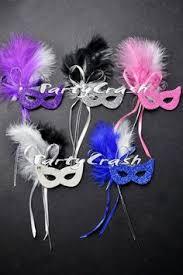 womens masquerade masks12 christmas tree mardi gras masquerade feather party favor weddings