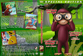 curious george collection dvd cover 2006 2015 r1 custom