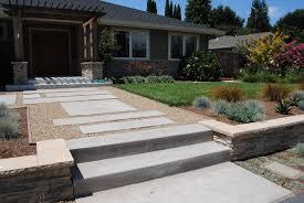 modern garden ideas uk perfect slim courtyard house with paving