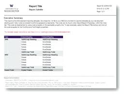 it support report template status report exles exles of status free project status