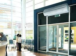 Air Curtains For Doors Air Curtains Air Curtains Retail Use Heated Air Curtains For Doors