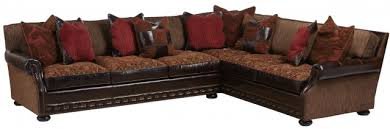 Mixing Leather And Fabric Sofas living room furniture mixing leather and fabric colorado style