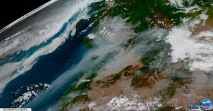 Wild Fires In Canada Now by As The Northwest Bakes In A Potentially Historic Heat Wave The