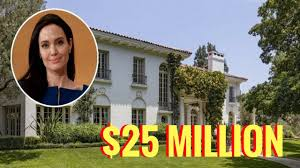 New House by Look Inside Angelina Jolie New House Youtube