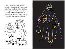 nutcracker trace along scratch and sketch activity book 060032