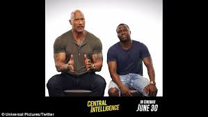 dwayne johnson and kevin hart use state of origin 2016 to promote