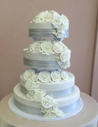 silver wedding cakes contemporary wedding cakes sal dom s pastry shop