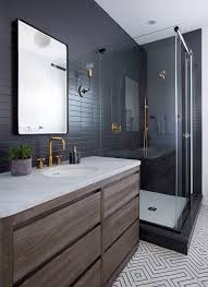 best 25 black tile bathrooms ideas on black subway - Black Tile Bathroom Ideas
