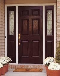 Fiberglass Exterior Doors With Sidelights Stylish Entry Doors With Sidelights Best 25 Door Front Remodel 17