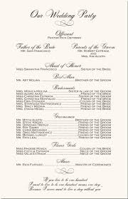 programs for wedding ceremony engagement photograpy wedding program monogram wedding programs