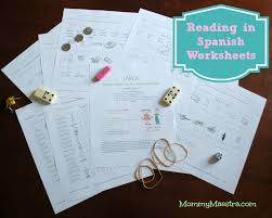 mommy maestra free spanish reading worksheets haciendo palabras