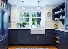Dark Blue Kitchen Dark Blue Kitchen Kitchen Industrial With White Metro Tile