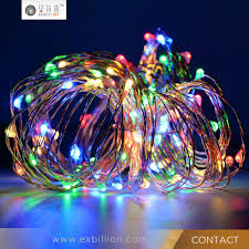 holiday time string lights solar mini lights led string 2m battery operated copper wirelight
