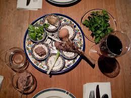 shabbat plate customs combine passover customs from tunisia yemen