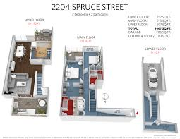 8 spruce street floor plans just listed fairview townhouse 2204 spruce st