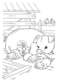 amazing pig coloring sheet 78 380
