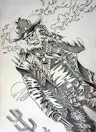 ghostrider wild west by mindsetteler on deviantart