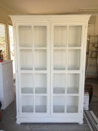 large bookcase with glass doors antique white bookcase with glass door doherty house create an