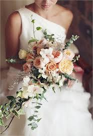cascading bouquet cascading wedding bouquets brides