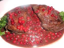 cuisiner des airelles recette de pavé de cerf sauce aux airelles