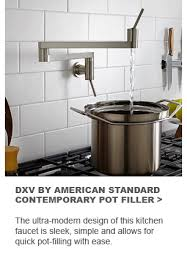 dxv by american standard contempoary pot filler the ultra modern