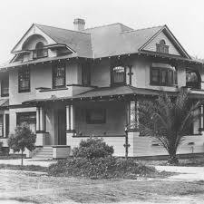 calisphere craftsman style house orange california ca 1910