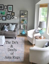 20 best collection rug over living room
