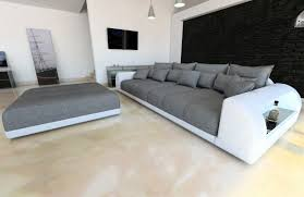 big sofa weiss big sectional sofa bed miami with led lights and big stool