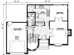 european floor plans european style house plan 3 beds 1 50 baths 1610 sq ft plan 138 146