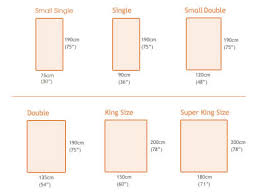 Measurement Of A King Size Bed Standard Twin Bed Dimensions Dimensions King Size Bed Length