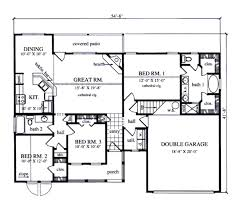 plan42 country style house plan 3 beds 2 00 baths 1413 sq ft plan 42 392