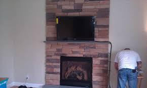 fireplace mantel shelf bed story inlaid above custom story stone