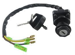 amazon com ignition key switch kawasaki klf220 bayou 220 1988