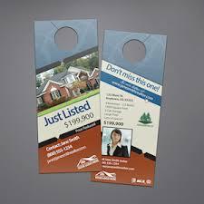 real estate door hangers custom templates for keller williams