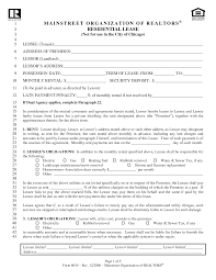 land lease agreement form free sample doc commercial agreement masir