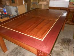 custom wood dining gaming table by concepts n creations