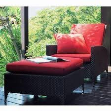 Patio Chair With Ottoman Water Resistant Outdoor Patio Furniture Lounge Chair With Ottoman