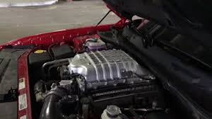 hellcat demon engine mystery cold air intake makes srt hellcat supercharger whine like