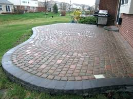Paver Patio Plans Paver Backyard Patio Image Of Designs Size Paver Patio Design Tool